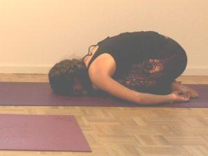 yoga weerstand - kind houding