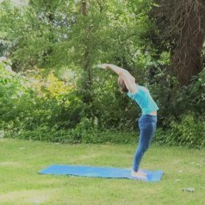hatha yoga Marloes van der Kamp