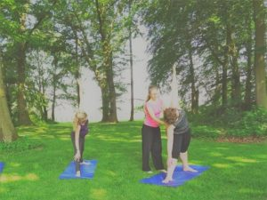 yoga weekend Twello garden