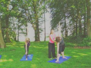 yoga weekend Twello garden