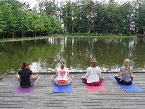 yoga meditatie kasteel Vaassen