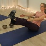 navasana - boat pose - boothouding - yogahouding voor je rug - yoga pose for your back