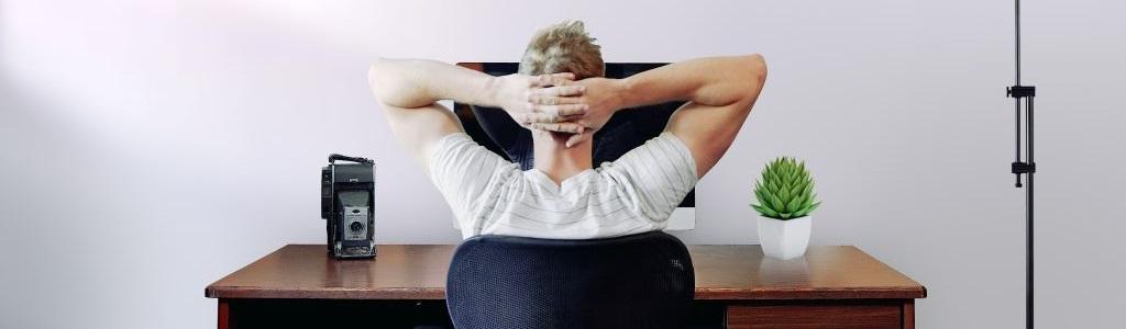 Thuiswerken en yoga